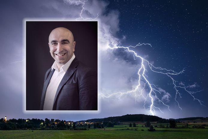 Benjamin Savci van FC Aramea was er donderdagavond bij toen de bliksem insloeg: 'Uit het niets'