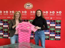 Primeur vrouwentak PSV, eerste jeugdspeelster tekent contract