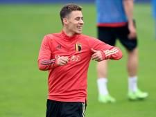 Thorgan Hazard est bien de retour à l'entraînement, les titulaires au repos