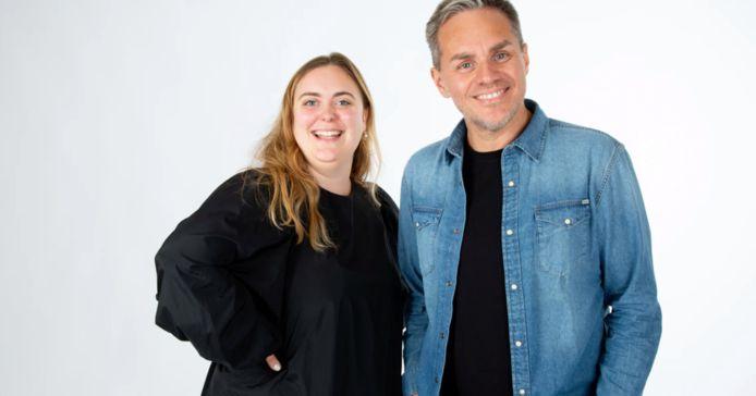 MNM-djPeter Van deVeire & Stubru-DJ Fien Germijns