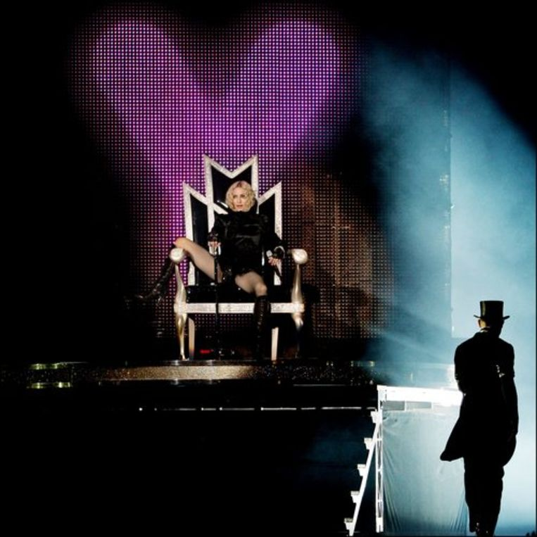Madonna in de ArenA in Amsterdam. Foto's ANP/Rick Nederstigt Beeld