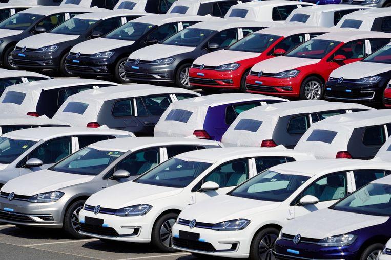 Volkswagen, dat een boete kreeg van ruim een half miljard euro, overweegt in beroep te gaan. Beeld EPA