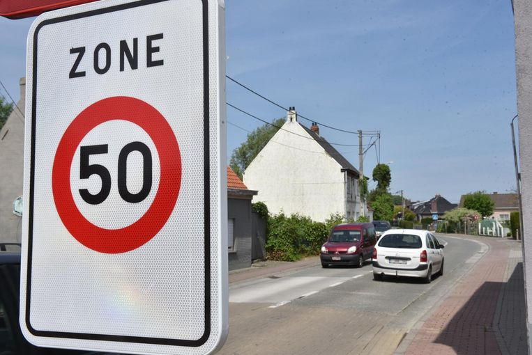 In de Grotenbroekstraat reed meer dan de helft van de bestuurders te snel.