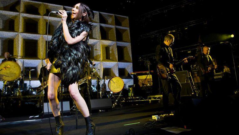 Eerder dit jaar bracht ze haar negende studio-album uit onder de naam The Hope Six Demolition Project Beeld EPA