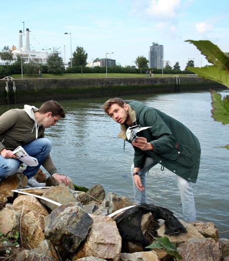 Studenten meten het stadsklimaat van Rotterdam