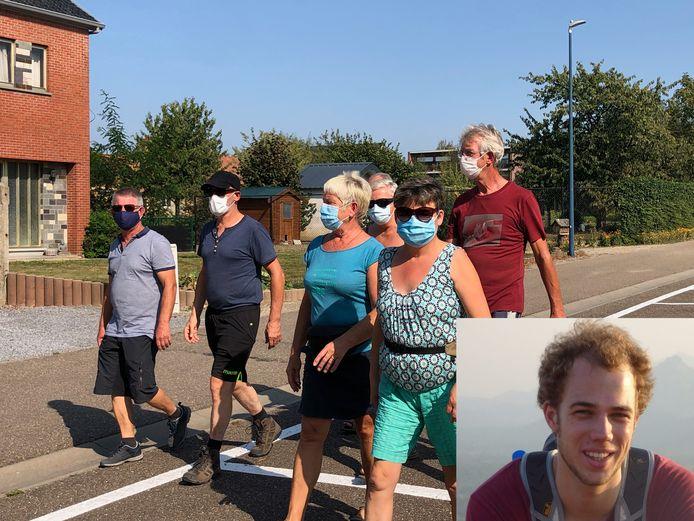 Ruim 500 wandelaars daagden op voor de 1.000 kilometer voor Jelle.