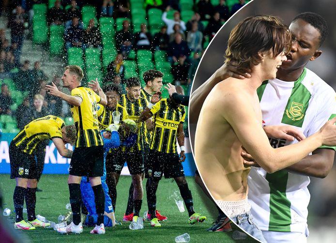Ook bij FC Groningen-Vitesse ging het mis.