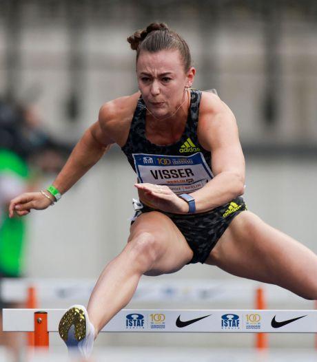 Nadine Visser de snelste op 100 meter horden in Berlijn