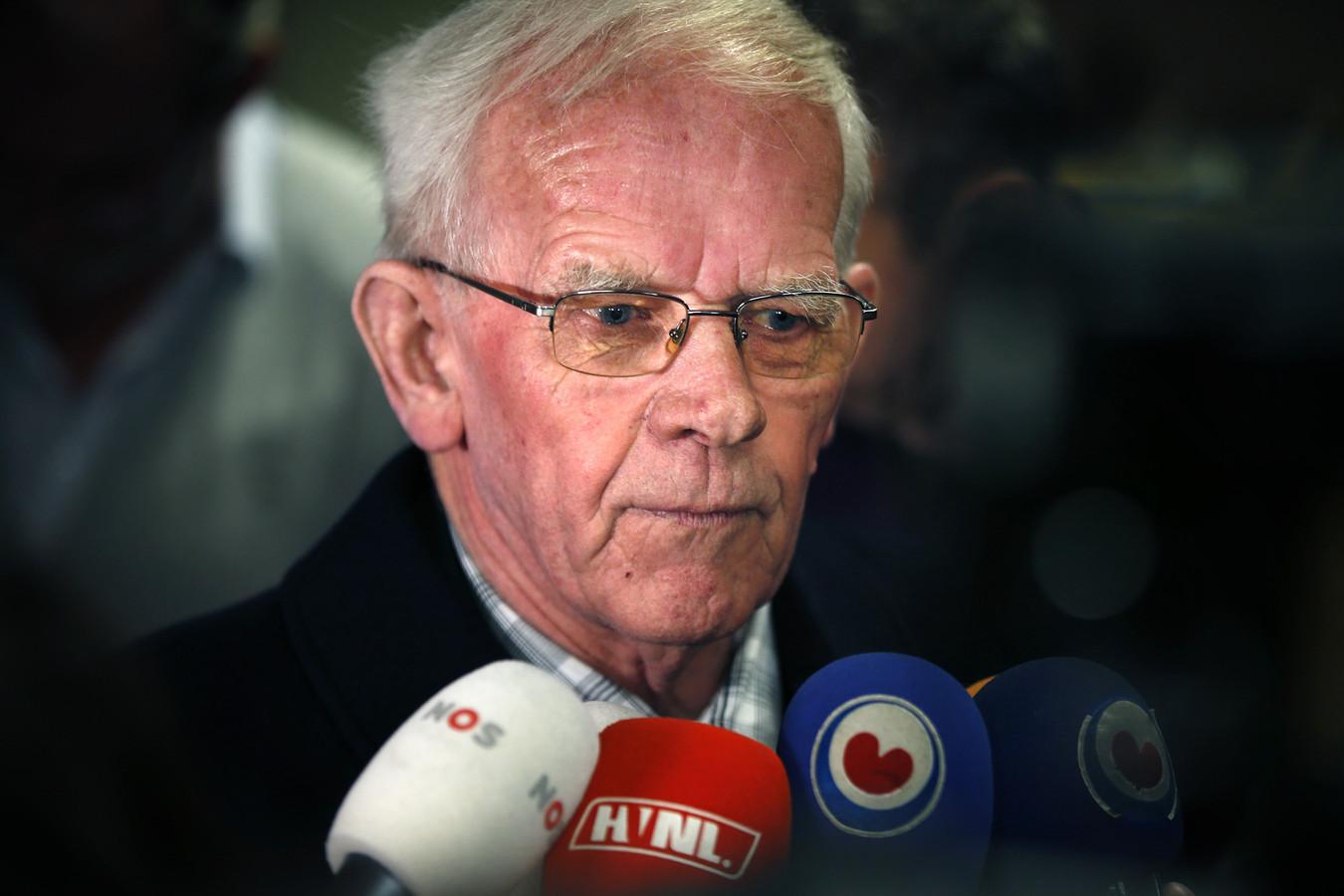 Bauke Vaatstra, de vader van de vermoorde Marianne Vaatstra.