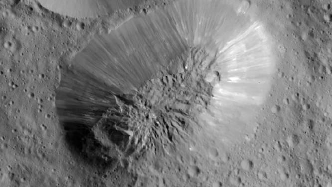 Inactieve vulkaan op dwergplaneet Ceres
