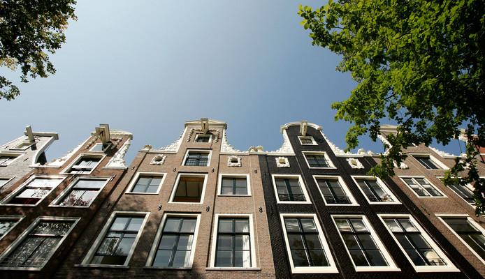 In de grachtengordel van Amsterdam is de gemiddelde huizenprijs in 2018 met afstand het hoogste van Nederland.