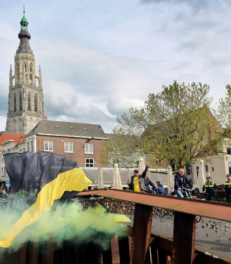 Zo zag Breda eruit tijdens NAC-NEC