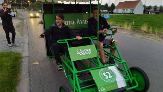 Burgemeester De Clercq trapt eerste 1-2-3 piano in kanaaldorpen op gang