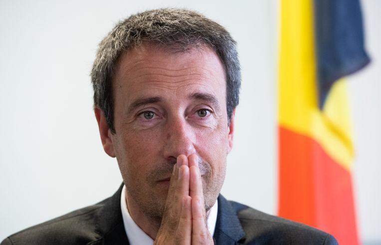 De Belgische minister van Buitenlandse Zaken en Defensie Philippe Goffin (MR) Beeld BELGA