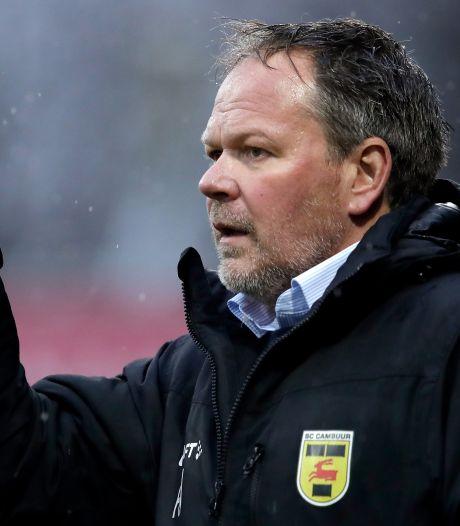 De Jong (Cambuur) furieus: 'Grootste schande uit Nederlandse sport'