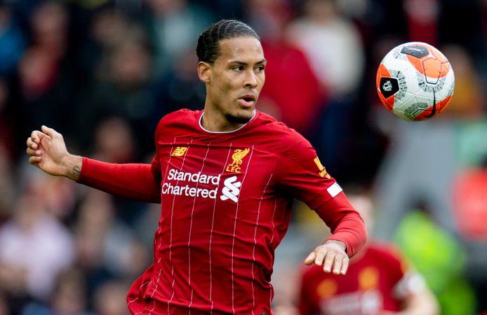 Liverpool-verdediger Virgil van Dijk.