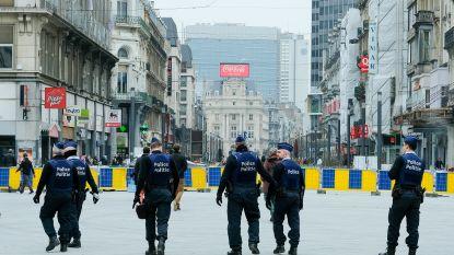 Brusselse politie blijft waakzaam voor islamterreur in coronatijden