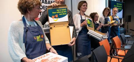 Brabants Voedselakkoord: pizzadozen tegen verspilling, Bossche bollen voor een eerlijke prijs