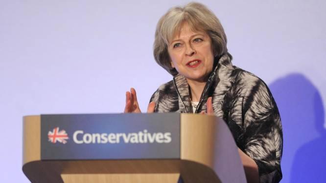 Ook Camerons gedoodverfde opvolger May wil geen haast maken met uittrede EU