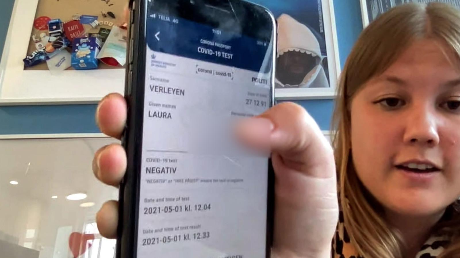 """Vlaamse in Denemarken over coronapaspoort: """"Het geeft een extra gevoel van veiligheid"""""""