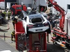 Brandende e-auto blijft een gevaar, maar is geen reden voor extra beleid in Breda