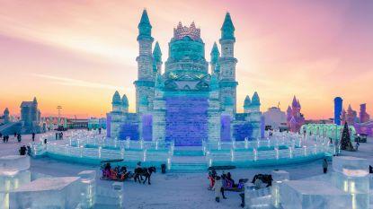 China pakt uit met magische ijssculpturen op grootste ijsfestival ter wereld
