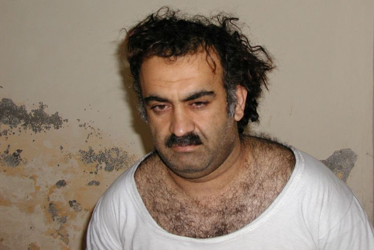 Khalid Sheikh Mohamed, de 'architect van 9/11'. Beeld AP