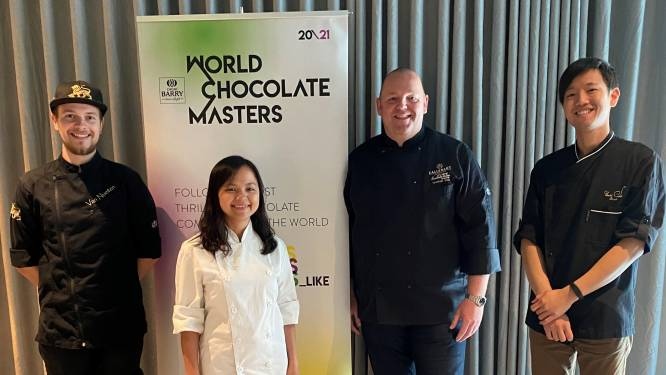 Vier topchocolatiers strijden voor finaleplek bij World Chocolate Masters