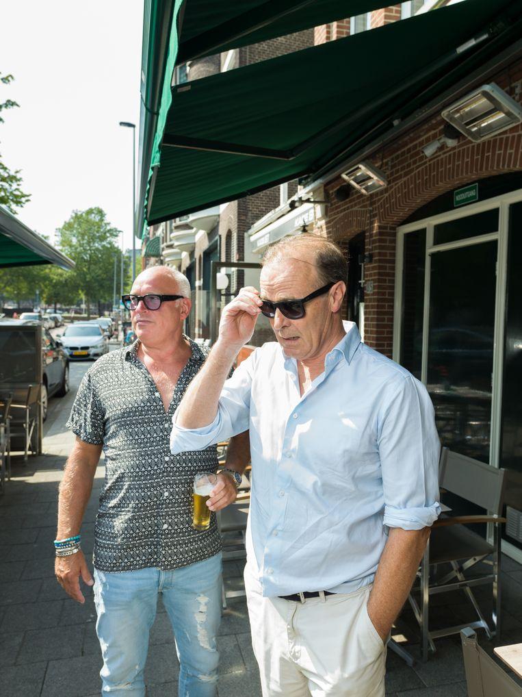 René van der Gijp en Casper van Eijck  Beeld Ivo van der Bent