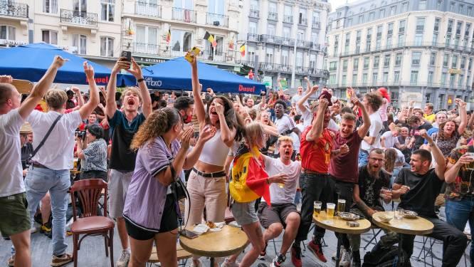 Sint-Joost plaatst groot scherm voor wedstrijden Rode Duivels, Brussel houdt de boot af