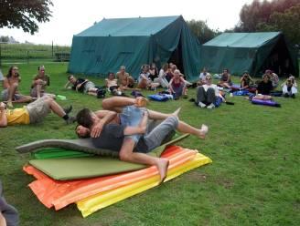 Extra kampeerplaats voor jeugdbeweging op onder meer Provinciedomein Palingbeek na overstromingen