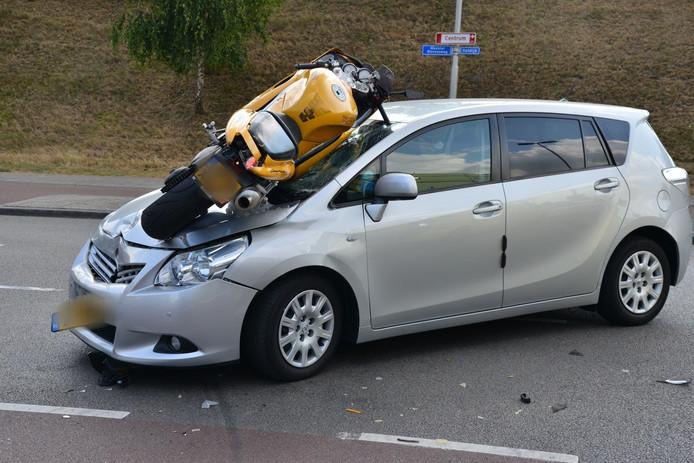 Ongeval in Prinsenbeek.