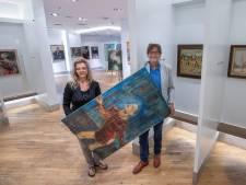 Er hangt geen jurk, maar Eindhovense kunst in het pashokje