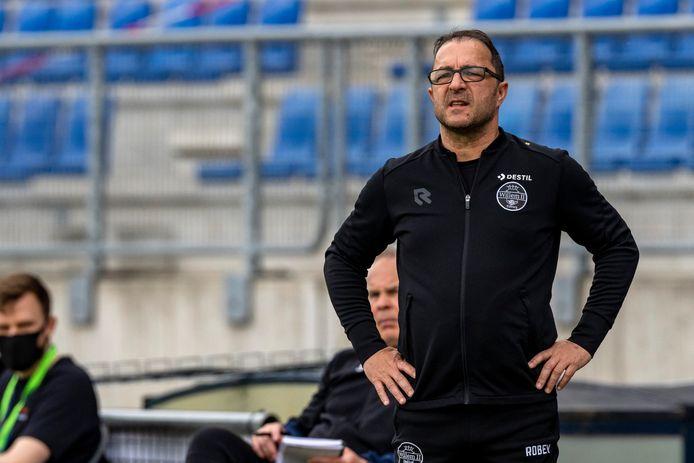 Willem II-coach Zeljko Petrovic.
