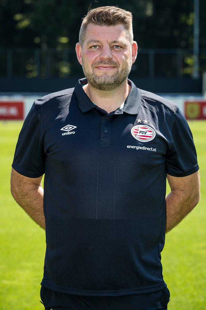 Marcel Hover is materiaalman bij PSV.