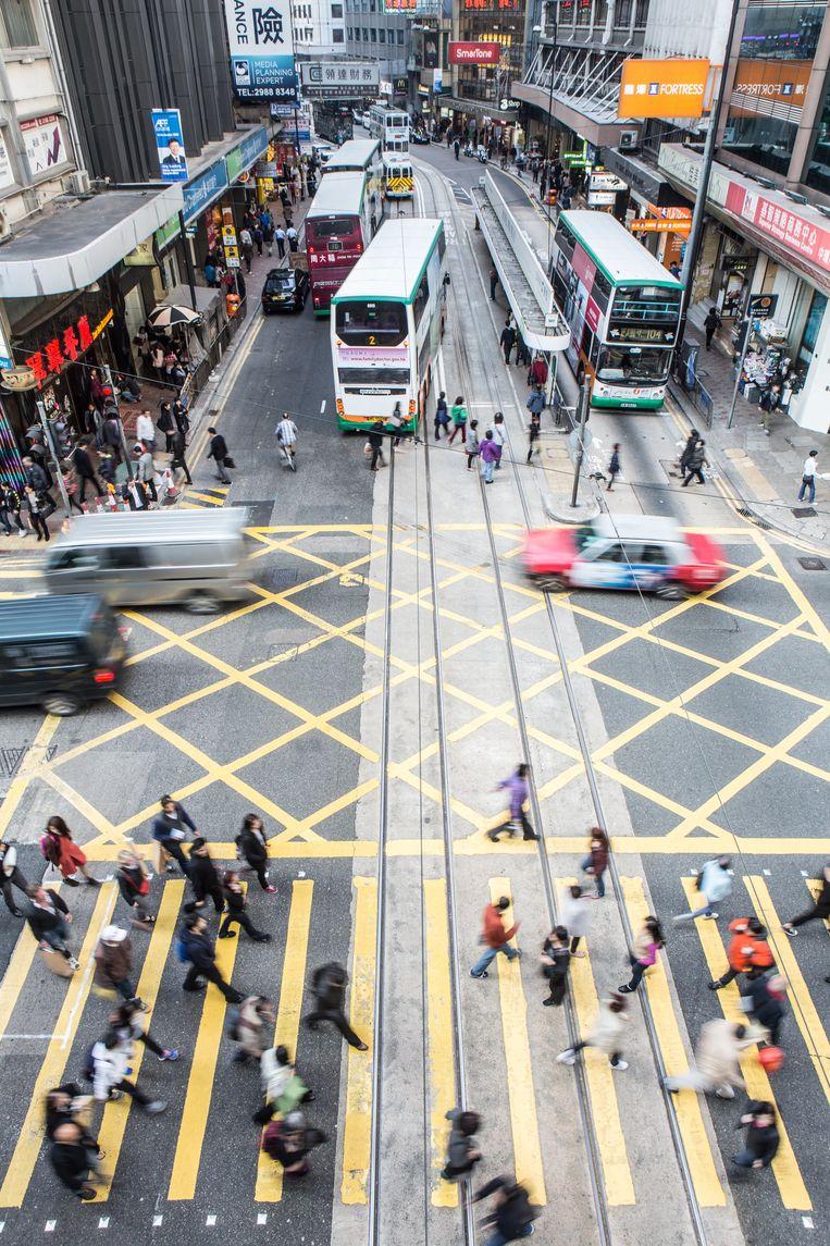 Hongkong.  Beeld getty images