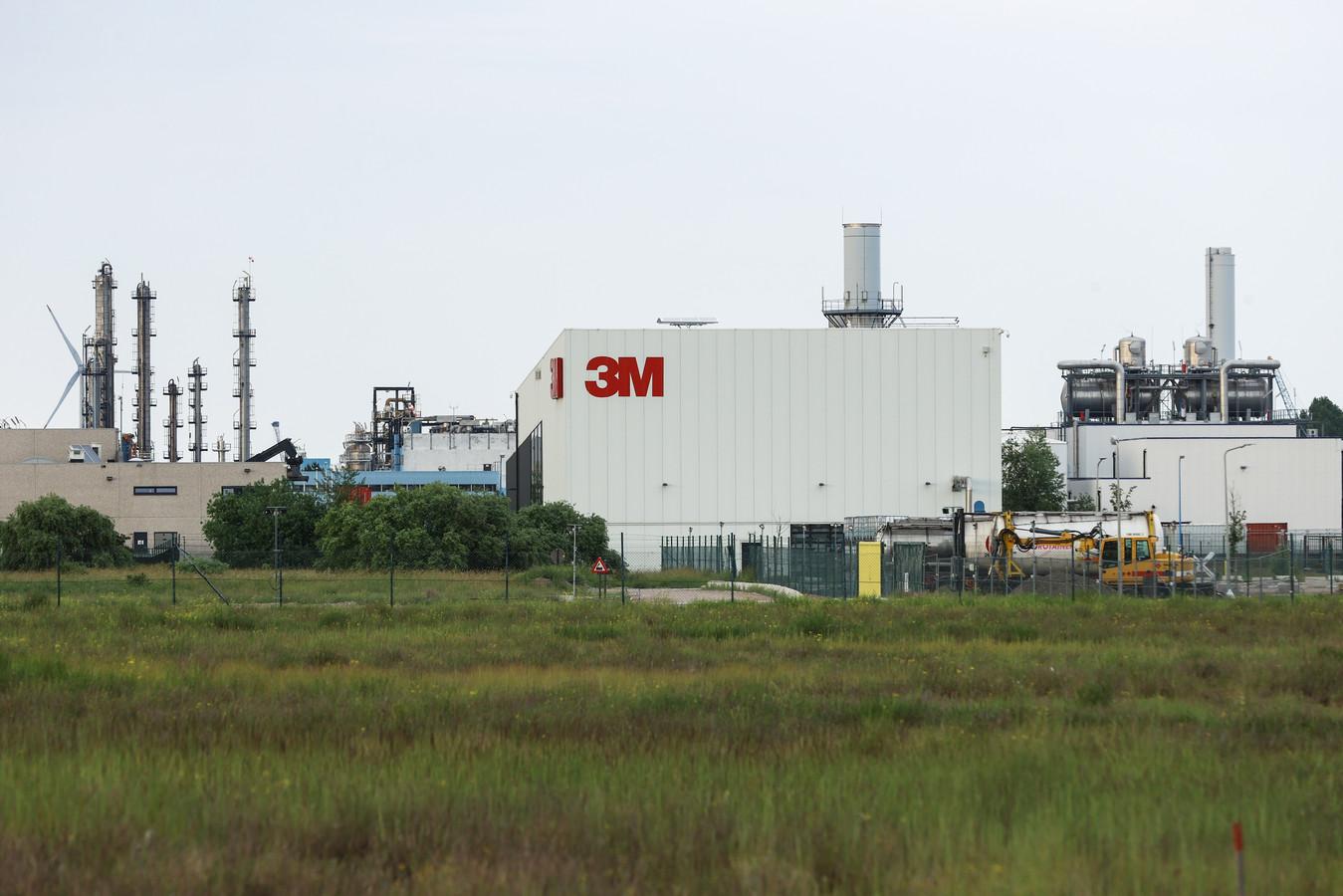 De 3M-fabriek in Zwijndrecht, bron van het PFOS-probleem in Zwijndrecht en in een perimeter van 15 kilometer daarrond.