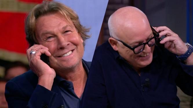 Van der Gijp en Kraay genieten van inbellende Ajax-trainer Erik ten Hag tijdens Veronica Inside