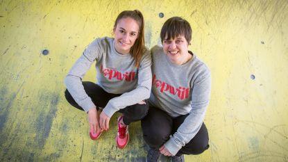 Tessa Wullaert en G-voetbalster Tine steunen met speciale Topwijf-collectie campagne Special Olympics