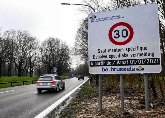 Les données de Bruxelles Mobilité récoltées par les caméras LIDAR montrent des réductions de 7% à 19% des vitesses moyennes pratiquées sur l'ensemble des axes.