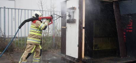 Proef met dwars door muren blussen blijkt succes in Veiligheidsregio Utrecht