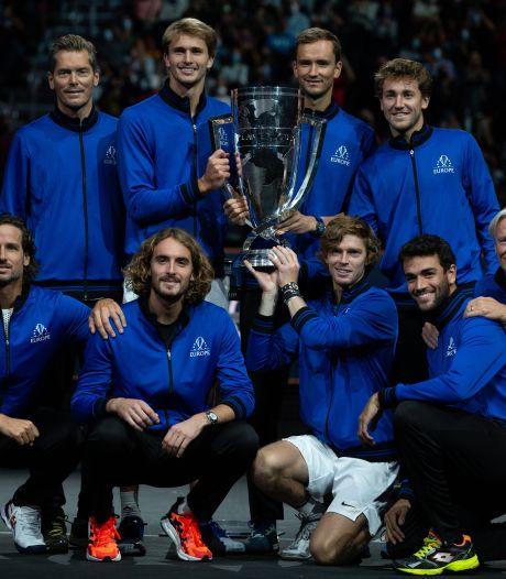 Laver Cup wéér naar Team Europa: Roeblev en Zverev maken karwei af voor team van Björn Borg