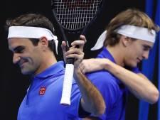 Loin de la Coupe Davis, Federer bat Zverev en exhibition à Santiago du Chili