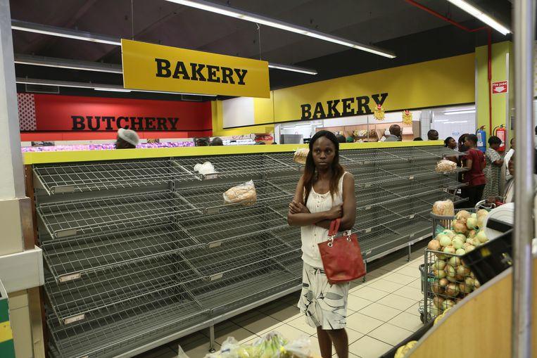 Opnieuw grote schaarste aan goederen in Zimbabwe