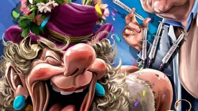 Vierde druk op komst van 'Marc Van Ranst-carnavalsaffiche'