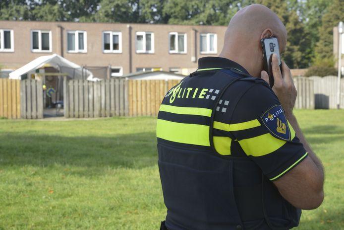 Door agenten is een waarschuwingsschot gelost.