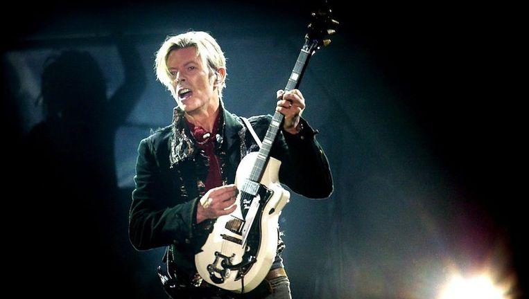 Archieffoto van David Bowie. Foto EPA Beeld