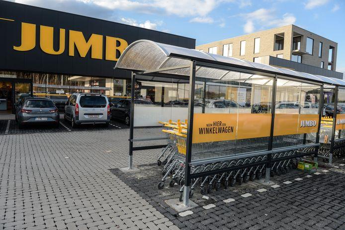 Een winkel van Jumbo in de Limburgse gemeente Pelt.
