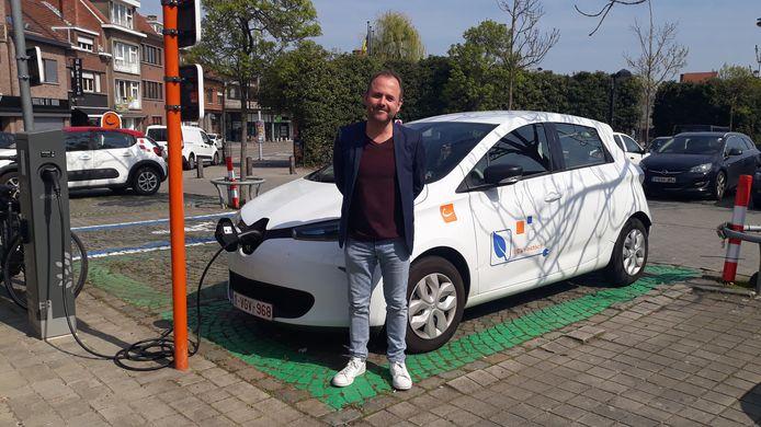 Stad Leuven en schepen David Dessers (Groen) geven ook premies voor de aankoop van elektrische deelwagens.