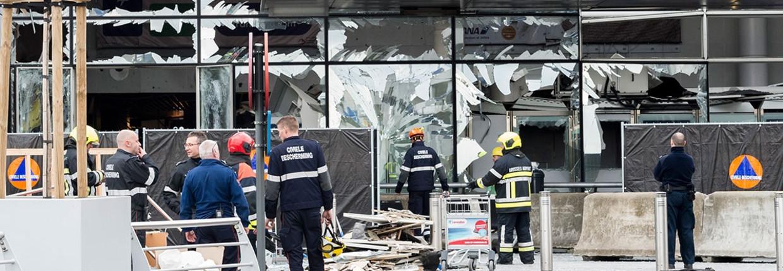 'De brandweermannen die in Maalbeek de gewonden wegbrachten, hadden een paar dagen eerder Salah Abdeslam naar het ziekenhuis gevoerd' Beeld
